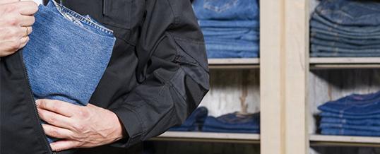 Охрана, ловля магазинных воров в Лондоне