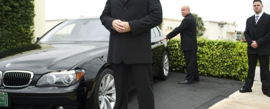 VIP protection in London