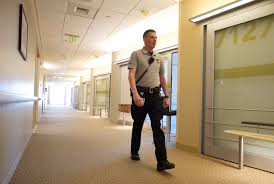 What is expected from hospital security?
