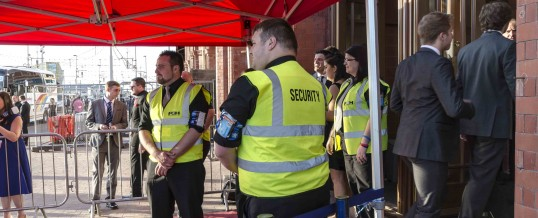 Event security in London (UK) –  Why is event security needed?
