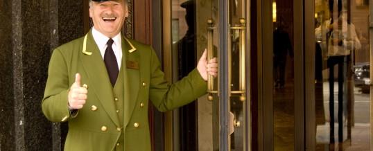 The London (UK) doorman –  What does the London doorman do?