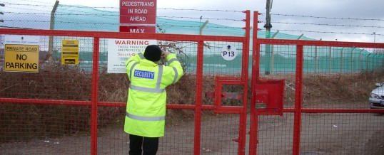 Construction security in London (UK) – Why construction is projects a risk?