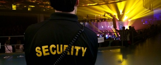 Event security in London (UK)