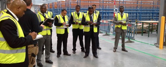 Warehouse security guards in London (UK)