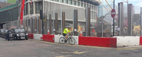 Construction security in London (UK)