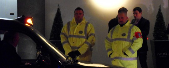 Security guards in London (UK)
