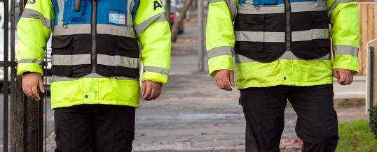 Security patrols in London (UK)