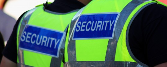 Commercial security in London (UK)